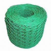 Quality Green Plastic-coated Hexagonal Wire Mesh with 1/2 to 3 Inches Mesh Size for sale