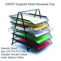 Wholesale Exquisite Metal Document Tray from china suppliers