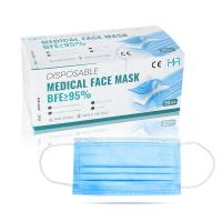 Wholesale Hypoallergenic 3 Ply Disposable Earloop Mask For Food Processing Industry from china suppliers