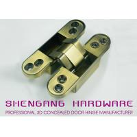 Wholesale Zinc Alloy / Aluminum Alloy Hidden Door Hinges Hardware , Heavy Duty Cupboard Door Hinges from china suppliers