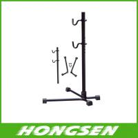 Wholesale adjustable height bike display rack bicycle repair rack cycle parking rack from china suppliers