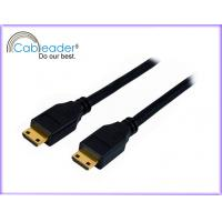 Wholesale Gold Plated Connector Mini HDMI Cables v 1.4, HDMI C type male to C male support 1080P from china suppliers