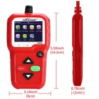 China Portable Car Scanner Diagnostic Live Data Code Reader Check Engine O2 Sensor Test Built In Speaker on sale