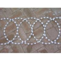 Wholesale High security Razor Barbed Wire (stainless steel core with galvanize coated--hot dipped/electric galvanized) from china suppliers