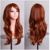 Wholesale Colorful Cosplay Kinky Curly Wave Wigs Woman Fashion Design Hair from china suppliers
