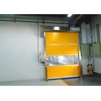 Wholesale 1.5mm PVC Window Galvanized Steel Frame Industrial High Speed Door For Workshop from china suppliers