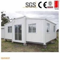 Buy cheap Mobile Home Cabin expandable container house 3 in 1 from wholesalers