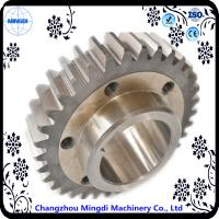 Wholesale Fixed 1 - 22M Steel  Spur Gear Transmission Gear Parts With Spline Shaft from china suppliers