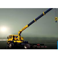 Wholesale Truck Mounted 6300kg articulated lorry mounted crane 40 L / min from china suppliers