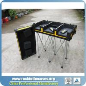 Wholesale Aluminum Laptop Case DJ equipment case Aluminum DJ flight case from china suppliers