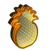 Wholesale Pineapple led mirror tunnel light from china suppliers