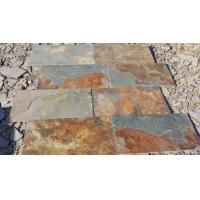 Wholesale China Multicolor Slate Floor Tiles Rusty Slate Paving Stone for Walkway Driveway from china suppliers