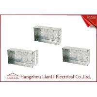 Wholesale Custom Outdoor Waterproof Metal Electrical Gang Box Pre Galvanized from china suppliers