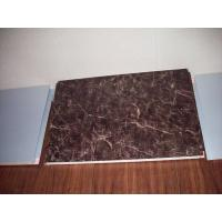 Wholesale Marble Grained Insulated Aluminum Panels , PVDF aluminum composite panel fireproofing from china suppliers