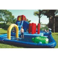 Wholesale Double Lane Inflatable Water Park , Kids Inflatable Wate Slide from china suppliers