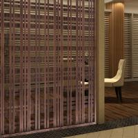 Simple Style Folding Screen /Perforated Partition Devider/Stainless Steel decoration
