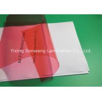 Wholesale 8 Mil PVC Binding Covers Clear Finish A4 Clear Front Report Cover from china suppliers