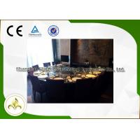 Wholesale Eight Seat Japanese Restaurant Grill Table , Teppanyaki Table Grill With Ventilation System from china suppliers