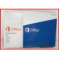Wholesale Microsoft office 2013 professional plus product key full version DVD retailbox office 2013 pro activated from china suppliers