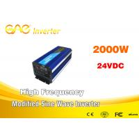 Wholesale Modified Series Inverter 2000 Watt Pure Sine Wave Inverter With AC Charger from china suppliers