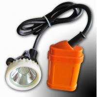 Wholesale 4000lux Rechargeable Led Miners Cap Lamp , Msha Approved Led Mining Lights from china suppliers
