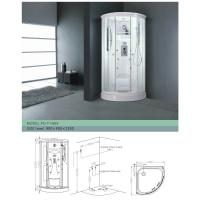 Wholesale Luxurious Fixed Framed Glass Multifunctional Shower Room / Size: 80 * 80 * 195  from china suppliers