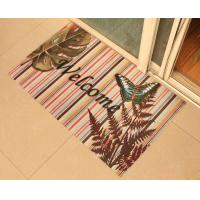 Waterproof Rubber Floor Carpet Soft With Cute Pattern For Bathroom