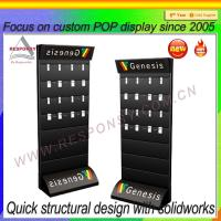 Wholesale Slatwall mobile phone accessory display Floor POS Accessories Slatwall Display Stand from china suppliers