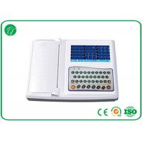 Wholesale CE Digital 12 Channel Leads Portable ECG Machine WIth Thermal Printer , 1000Hz rate from china suppliers