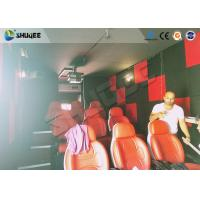 Wholesale Motion Seat In XD Theatre With Cinema Simulator System / Special Effect Machine from china suppliers