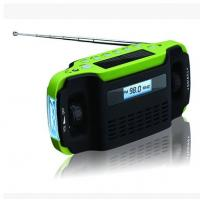 Wholesale Dynamo Solar Radio with FM/AM Band and 3 LEDs Torch from china suppliers