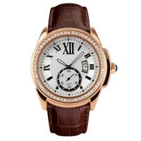 Wholesale Big Dial Luxury Alloy Wrist Watch With Diamond Stone Case , Women Jewellery Watches from china suppliers