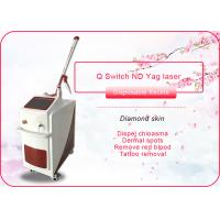 Wholesale Tattoo Removal 1064nm 532nm Q Switch ND YAG Laser Machine , CE Approved from china suppliers