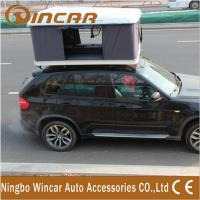 Wholesale Hard Shell Fibreglass white box Car Roof Top Tent Manual by Handle Cranks from china suppliers