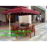 Wholesale beach aluminium umbrella with 5 years guarantee frame from china suppliers
