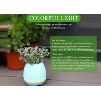 Quality Bluetooth Speaker Intelligent Smart Touch Music LED Flower Pots Plant Piano Playing K3 Wireless Singing for sale