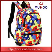 Buy cheap Printed high school travel hiking backpacks school bag for outdoor from wholesalers