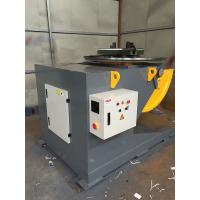 Quality Welding Positioner Turning Table Use 500 Diameter Welding Chuck , Loading Capacity 1200Kg Export Russia for sale