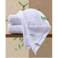 Quality Customized Hotel Style Towels Biodegradable , Bamboo Face Towels Easy Wash for sale