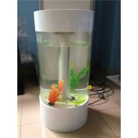 Wholesale Popular Custom Acrylic Fish Tank With Led Light And Perfect Transparency from china suppliers