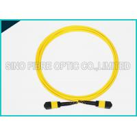Wholesale 12 Cores MPO to MPO Single Mode Fiber Optic Cable Corning SMF-28e Riser Rated from china suppliers