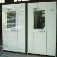 Wholesale Metal Clean Room Equipment , Single Person Cleanroom Air Shower PLC Control from china suppliers