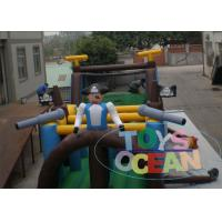 Wholesale Giant Funny Obstacle Inflatable Bouncer Combo Jumping Course For Racing Run from china suppliers