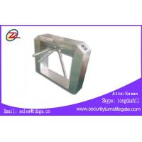 Wholesale Entrance Turnstile Barrier Gate Waist High Turnstiles For Factory Workshop from china suppliers
