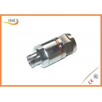 Buy cheap 7/16 DIN Connector Female / Straight Clamp Type connector for 1-1/4