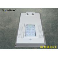 Wholesale Aluminum Alloy LED Solar Street Lights Rechargeable Lithium Battery 6W - 120W from china suppliers