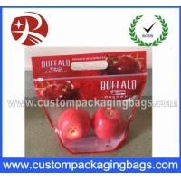 Wholesale Resealable Plastic OPP Fruit Packaging Bags / Grape Bag / Cherry Bag from china suppliers