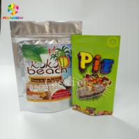 Wholesale Lamination Stand Up Zipper Pouch Bags Flexible Packaging Food Pouches For Nuts Snacks from china suppliers