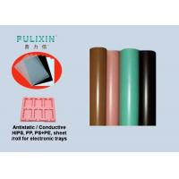 Wholesale IC Stock Pack Polypropylene Sheet Roll Thermoforming Packaging , Pink Green Black from china suppliers