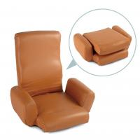 Wholesale Simple and Easy Folding sofa chair with arm,Foldable floor armchair from china suppliers